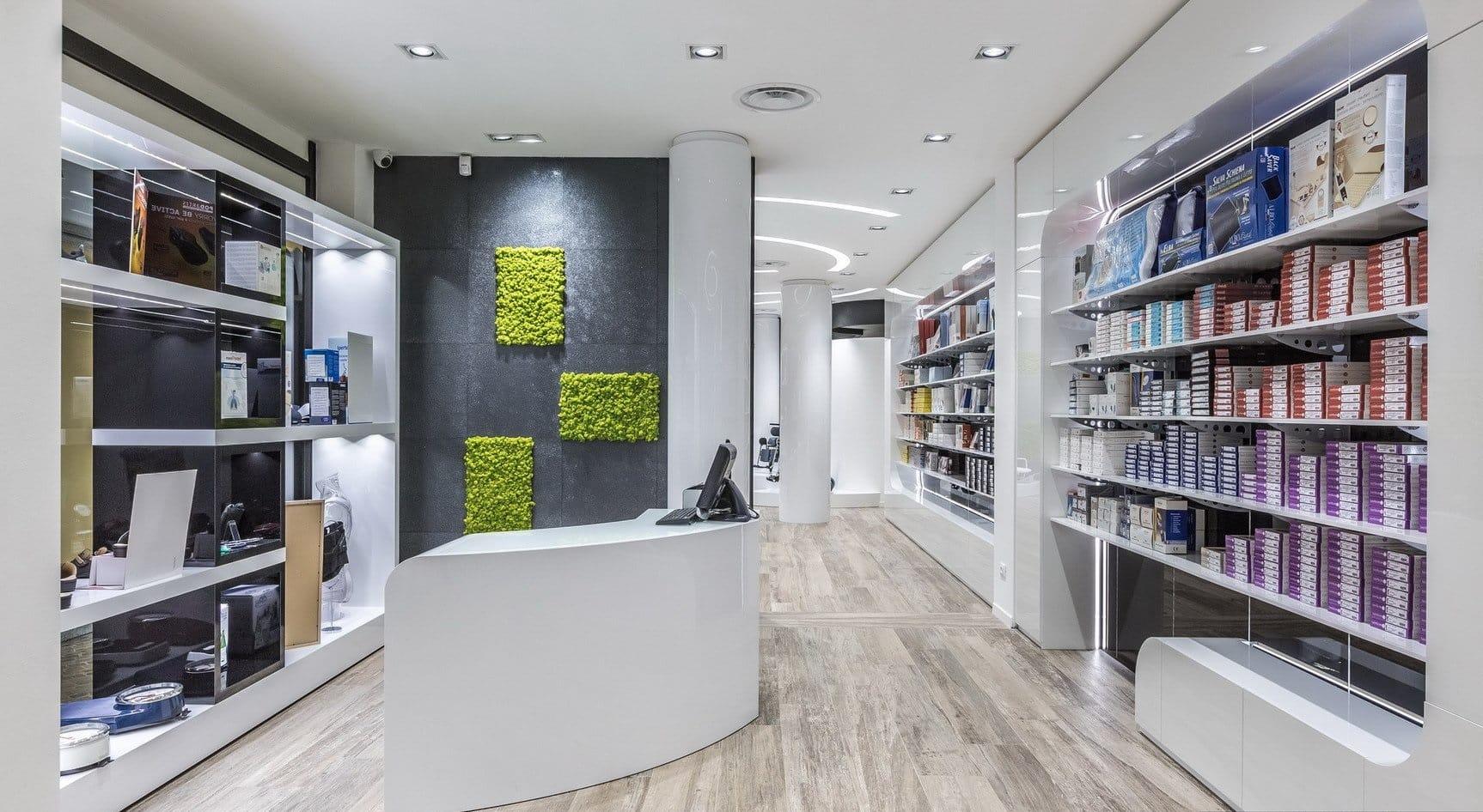 progetto ristrutturazione uffici e negozi roma