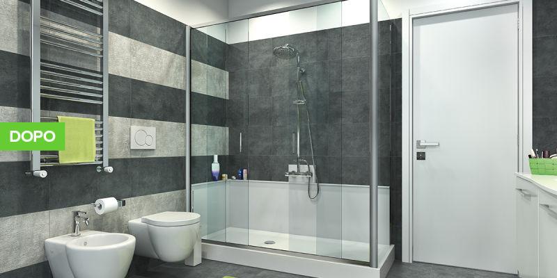 Trasformare la vasca in box doccia in 8 ore a roma - Rinnovare vasca da bagno prezzi ...