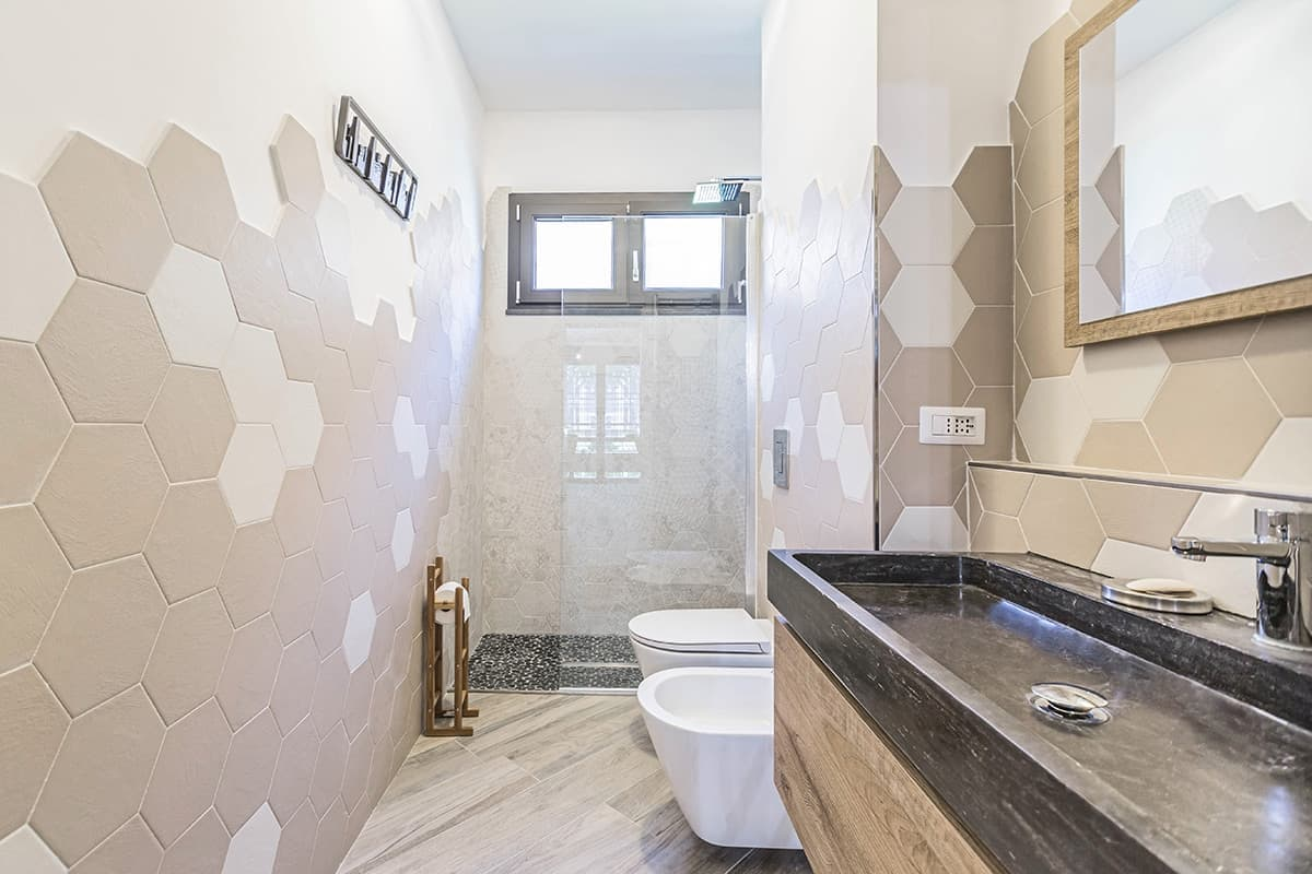 Costo Manodopera Rifacimento Bagno ristrutturazione bagno 5 mq a roma casilina