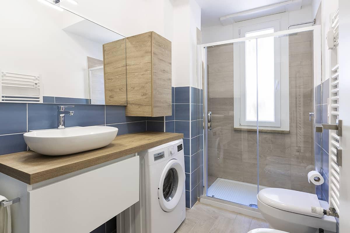 bagno ristrutturazione appartamento 40 mq casilina roma