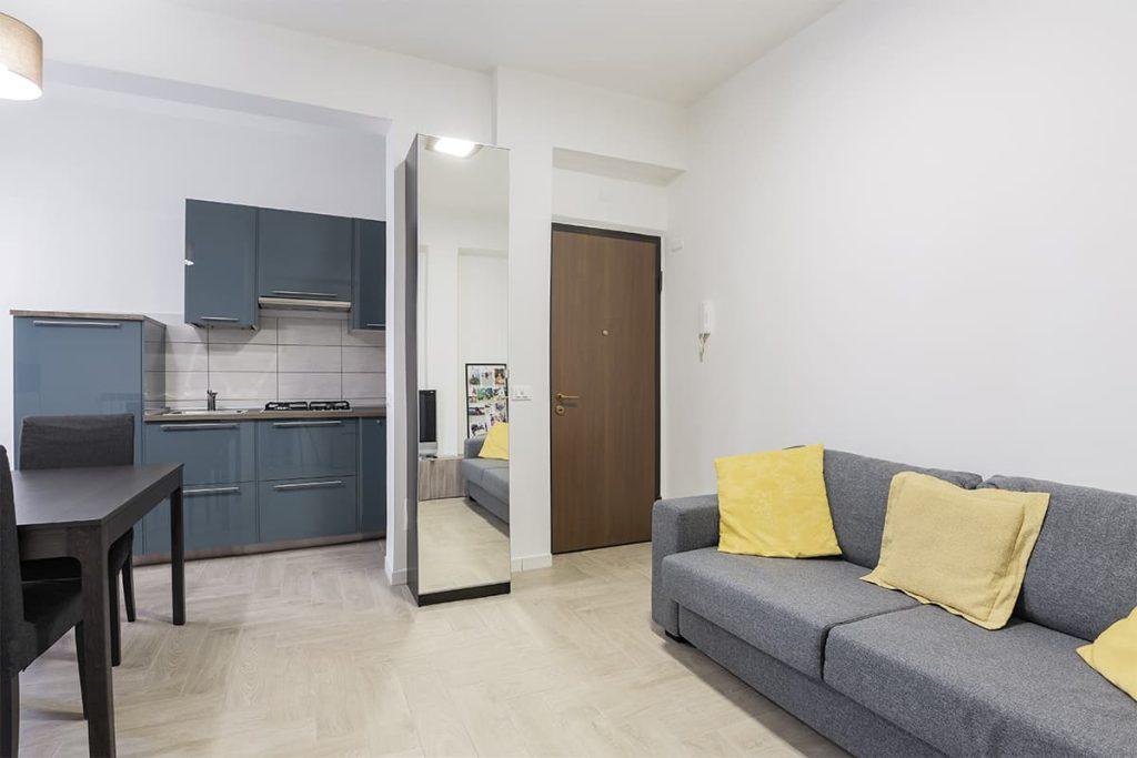 entrata ristrutturazione appartamento 40 mq casilina roma